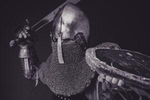 świat fantasy - rycerz