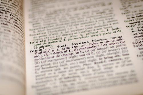 nowe języki: słownik