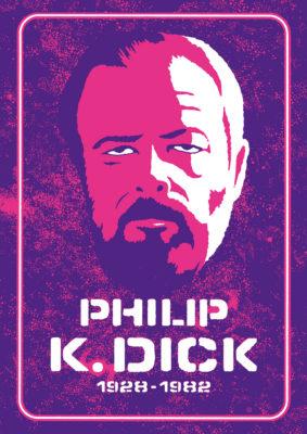 Philip K. Dick - portret
